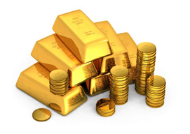 How to make money from gold